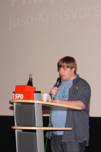 Unser Kreisvorsitzender Philipp Seibert