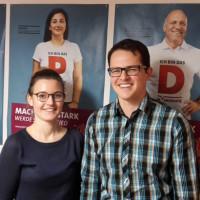 Neue Vorsitzende Jörg Pischinger Theresa Büchler