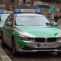 Polizeiwagen Bayern